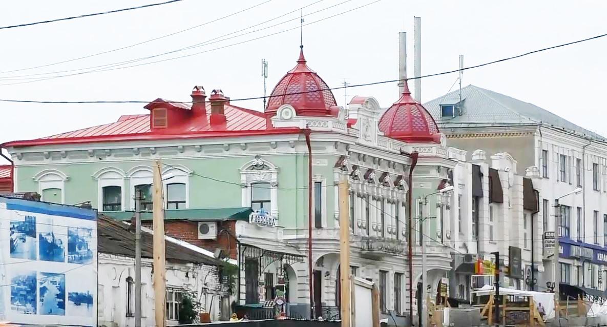 Город Сарапул. Архитектура