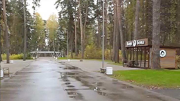 Обновленный Ленинский парк
