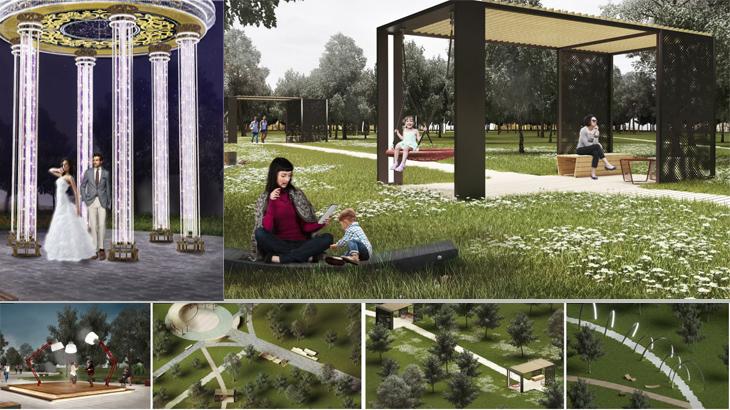 Проект благоустройства Ленинского парка в Сарапуле
