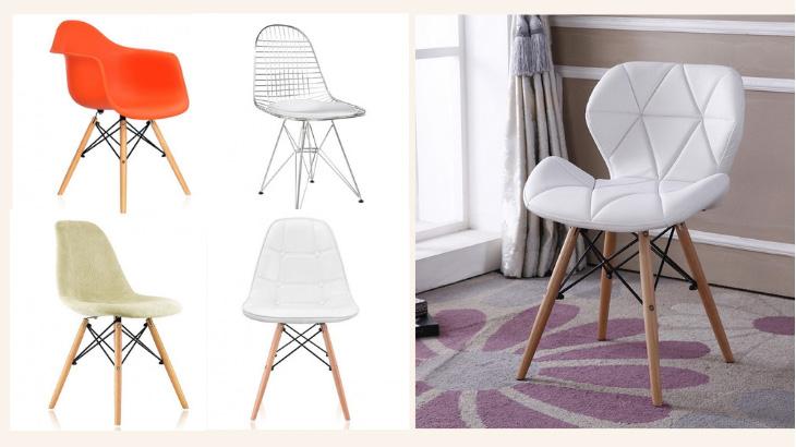 виды стульев eames dsw